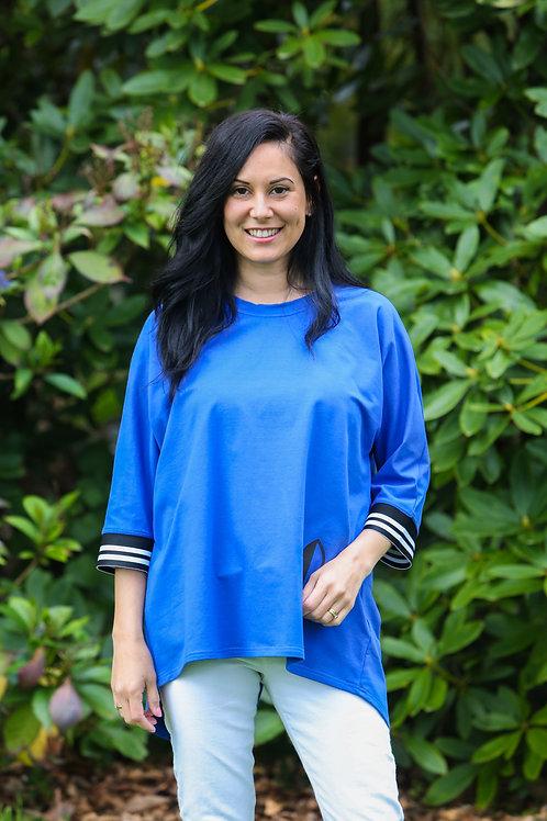 Awesome Blue Sweat-Shirt - Summer Weight SS4