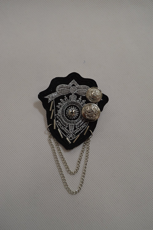 Brooch with Chain
