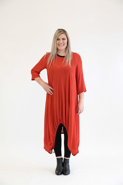 deeanne hobbs - CAUGHT IN IT DRESS ORANGE  DHSW2115