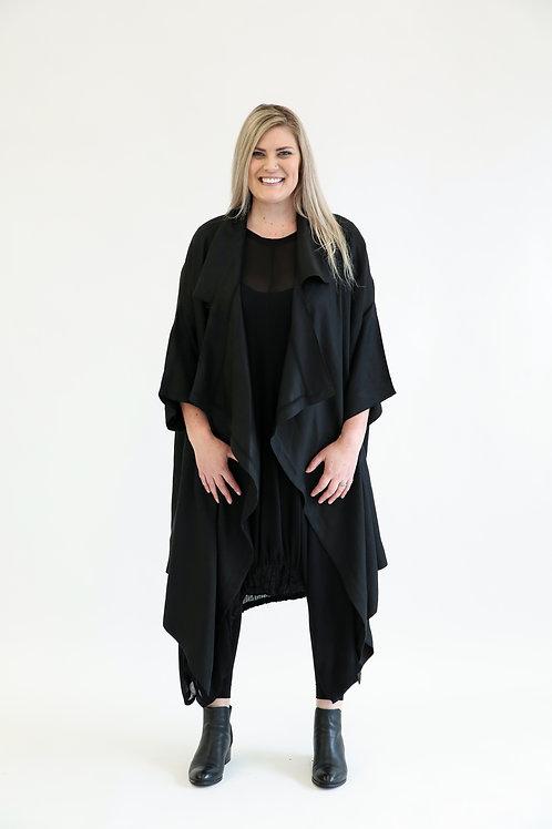 deeanne hobbs - CAPTURE COAT BLACK DHSW2101