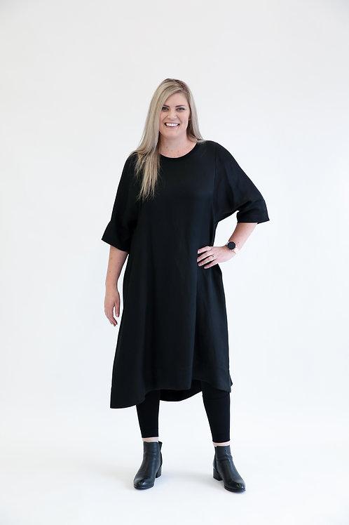 deeanne hobbs - JANUARY DRESS BLACK DHSW2104