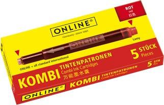Online Combi cartridge red
