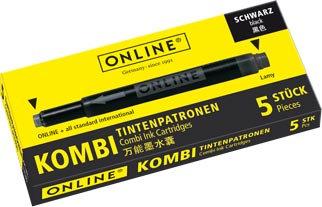 Online Combi cartridge black
