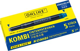 Online Combi cartridge Rabazzi Blue