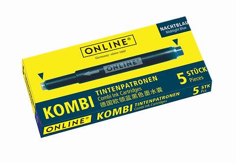 Online Combi cartridge Night Blue