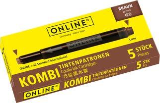 Online Combi cartridge brown