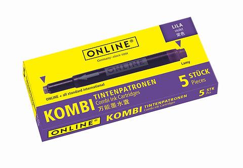 Online Combi cartridge Lila