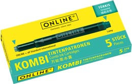 Online Combi cartridge Turquoise