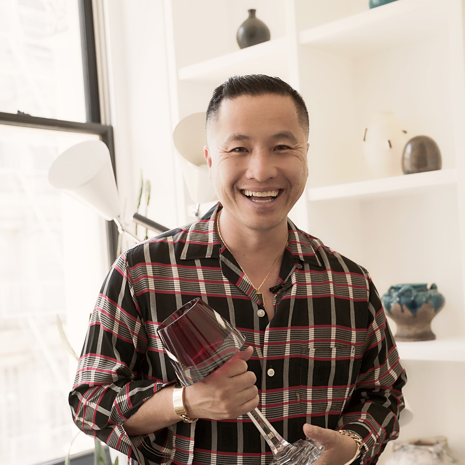 Phillip Lim holding trophy 2.JPG