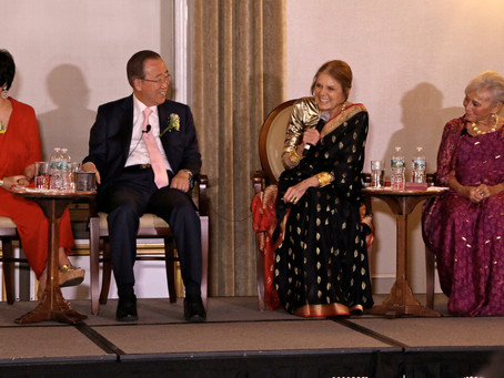 Yue-Sai Kan Receives Ban Ki-moon Award