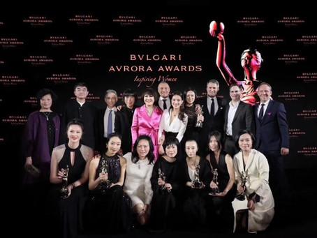 Yue-Sai Kan Attends the Bulgari Avrora Awards as an Award Presenter