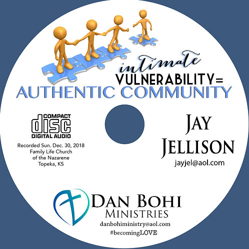Jay Jellison - Intimate Vulnerability - MP3