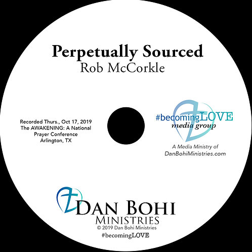 Rob McCorkle - Perpetually Sourced - MP3