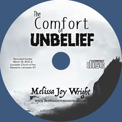 Melissa Joy Wright - The Comfort of Unbelief - MP3
