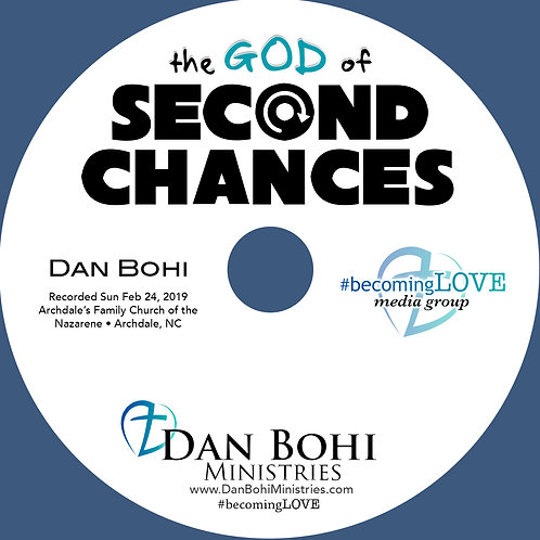 Dan Bohi - The God of Second Chances - MP3