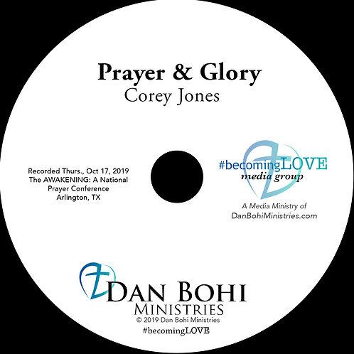 Corey Jones - Prayer and Glory - CD