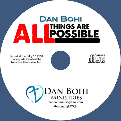 Dan Bohi - All Things Are Possible - MP3