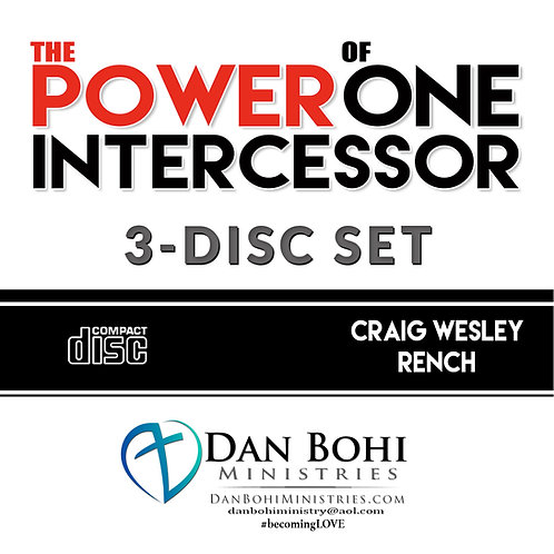 Craig Rench - The Power of One Intercessor 3-CD Set
