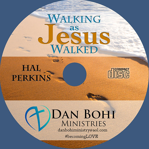 Hal Perkins - Walking As Jesus Walked - CD