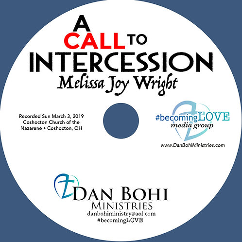 Melissa Joy Wright - A Call To Intercession - CD