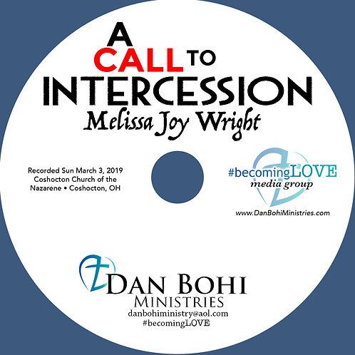 Melissa Joy Wright - A Call To Intercession - MP3