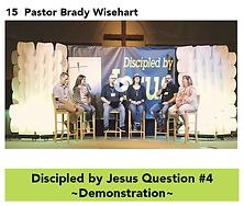 15 DBJ Q4 Demonstrated - Pastor B Wiseha
