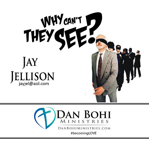 Jay Jellison - Why Can't They See? - CD
