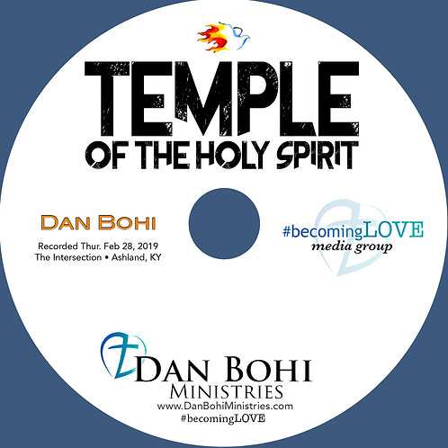 Dan Bohi - Temple of the Holy Spirit - MP3