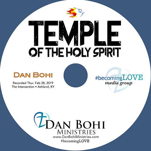 Dan Bohi - Temple of the Holy Spirit - CD