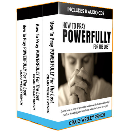 Craig Rench - How To POWERFULLY Pray for the Lost - 8CD Set