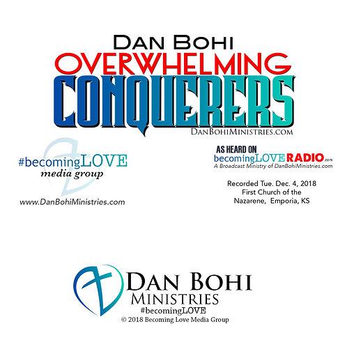 Dan Bohi - Overwhelming Conquerors - CD