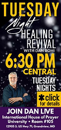 tues night revival services mobile 630PM