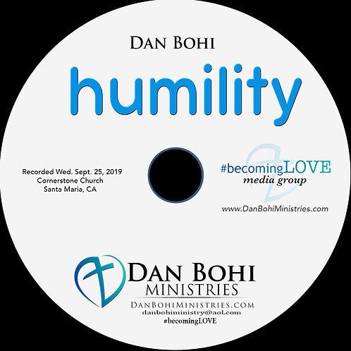 Dan Bohi - Humility - CD