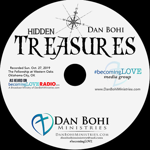 Dan Bohi - Hidden Treasures - CD