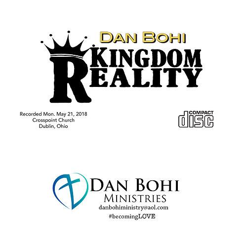 Dan Bohi - Kingdom Reality - CD
