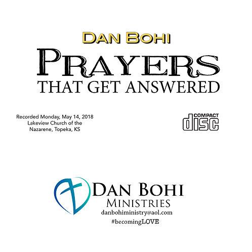 Dan Bohi - Prayers That Get Answered -MP3