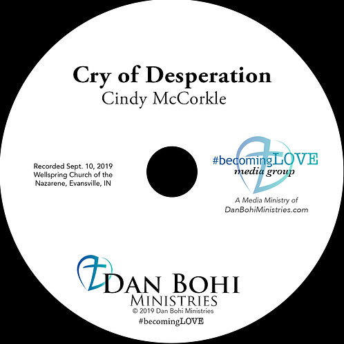 Cindy McCorkle - Cry of Desperation - MP3
