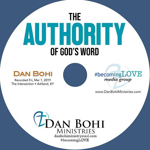 Dan Bohi - The AUTHORITY of God's Word - CD