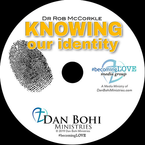 Rob McCorkle - Knowing Our Identity - CD