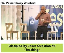 14 DBJ Q4 Teaching - Pastor B Wisehart.p