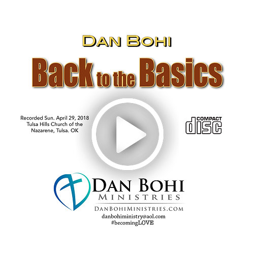 Dan Bohi - Back to the Basics - CD