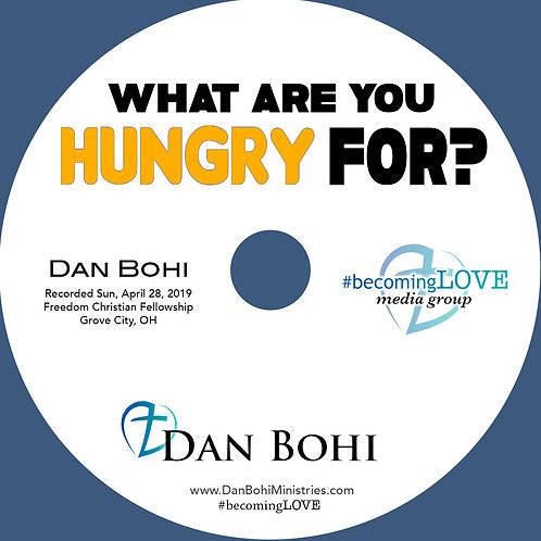 Dan Bohi - What Are You Hungry For? - CD