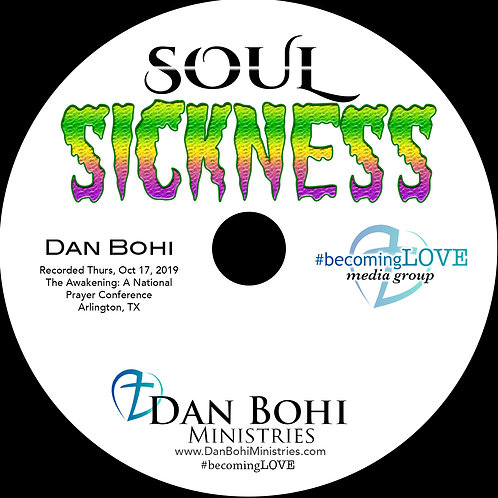 Dan Bohi - Soul Sickness - The Awakening 2019 - CD