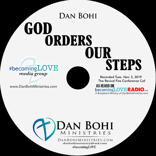 Dan Bohi - God Orders Our Steps - MP3