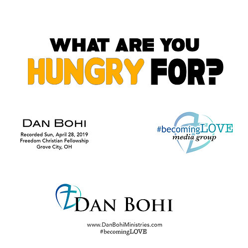 Dan Bohi - What Are You Hungry For? - MP3