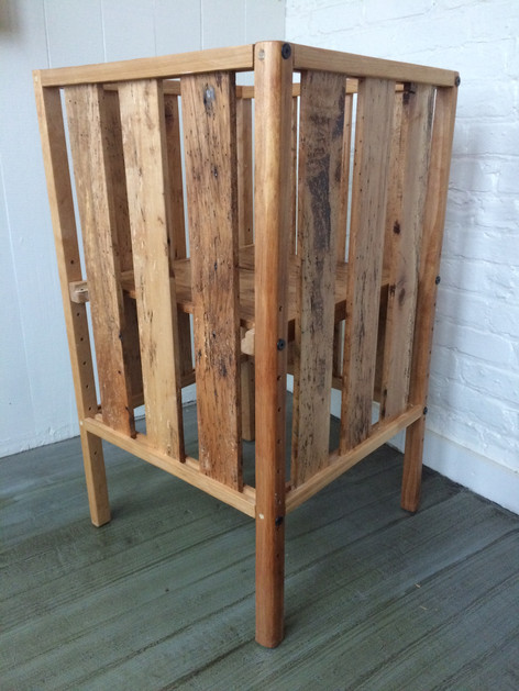 Maple Standing High Chair