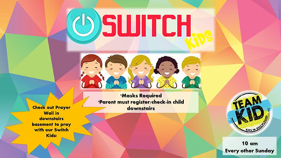 Swiitchkids announcement slide march 21.