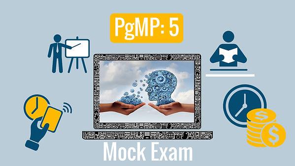 PgMP: 5- Certification Mock Exam  