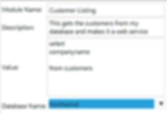 REST Database, Integrate Database with the cloud, XML Database, JSON Database