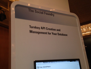 The Social Foundry at Oracle Open World 2013.